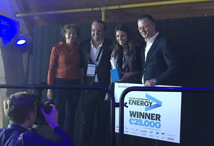 GoodShipping is the winner of the Accenture Innovation Awards 2017!