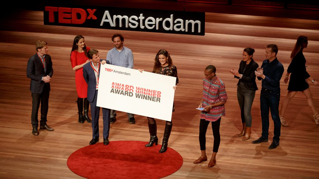 GoodShipping is the winner of the TedX Amsterdam Award 2017!