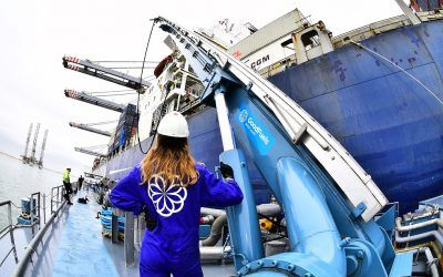 CMA CMG successfully refuels with sustainable marine bio-fuel oil