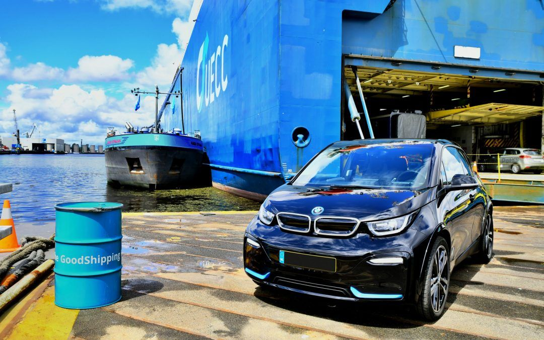 Biofuel volume to cut CO emissions of BMW shipments on M/V Autosky by 80-90%