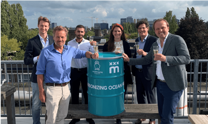 Meelunie joins forces with GoodShipping to decarbonise its ocean freight